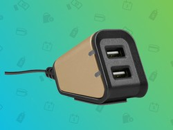 Charge two devices from a single outlet for $25 today