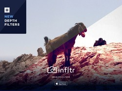 infltr gets a major update for iOS11