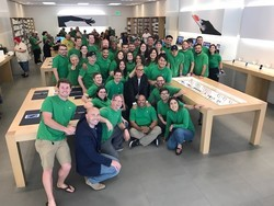 Apple employees will celebrate Earth Day by donning green shirts