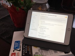 Agenda for iOS review: A fresh approach on note-taking