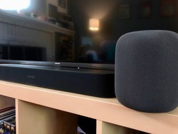 How to group HomePod and Sonos speakers