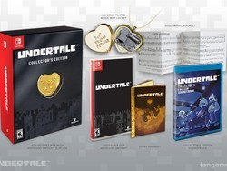 Undertale Collectors Edition set to hit the Switch on Sept. 18