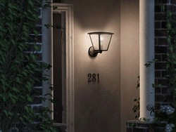 Can you replace the bulb of the Philips Hue Inara Outdoor Wall Lantern?
