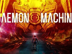 Take down enemies while operating a mech suit in Daemon X Machina
