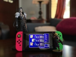 Save Midgard from Sephiroth in Final Fantasy VII, now on your Switch!