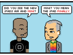 Comic: No One Expects the iPad Mini Revision