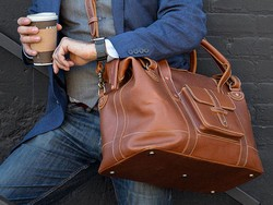 Pre-order one of Pad & Quill's new Gladstone leather bags and save $60