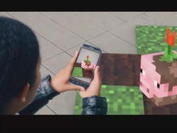Minecraft mobile AR game teased, full reveal coming May 17