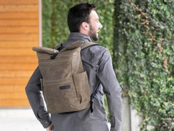 WaterField's Tech Rolltop Backpack is the perfect daily carry companion