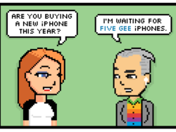 Comic: 5G iPhone Anxiety
