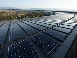 Apple reportedly partners with Taiwan company on rooftop solar project