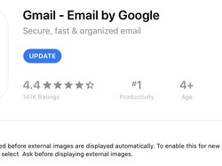 The iOS Gmail app can now block email tracking via remote images