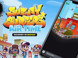 Check out Subway Surfers on Snapchat!