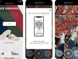 Try on a pair of shoes using augmented reality and your iPhones camera