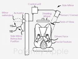 New patent shows how Apple would fix car blind spots