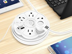 Safely charge all of your stuff on the go with these travel power strips