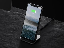 Base Station Stand is the newest wireless charger from Nomad