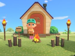 It'll take some time to upgrade to the perfect house in Animal Crossing
