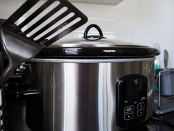 My slow cooker lets me eat great food while social distancing