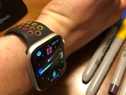 This DIY Pride Edition Nike Sport Band proves Apple should make a black one