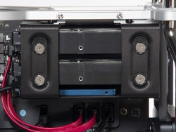 Add 3 more drives to your Mac Pro with the Sonnet Fusion Flex J3i mount