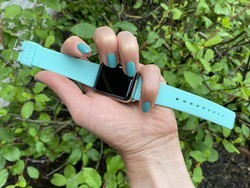 Review: Go ahead, get LAUT's colorful HEUX Pastels watch band wet