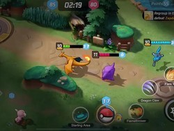 "Pokémon Unite is a ""free to start"" 5v5 team battle game"