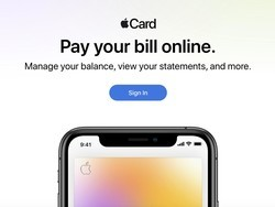 Apple launches website for Apple Card customers to pay their bill online