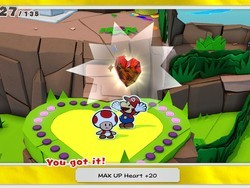 Make sure to get all the MAX UP Hearts in Paper Mario TOK