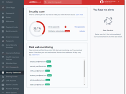 LastPass will now monitor your accounts for breaches and at-risk passwords