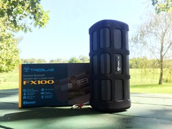 The Treblab FX100 is a rugged speaker for outdoor adventures