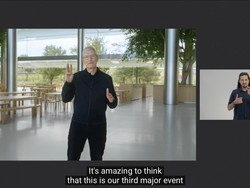 Apple offers video of its 'One More Thing' event in American Sign Language