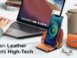 VogDUO combines fine Italian leather and smart design to cradle your tech
