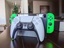 Use your shiny new PS5 controller while playing Switch games