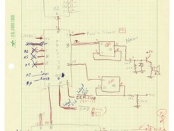 Woz's hand-drawn Apple prototype schematics just sold for more than $630K