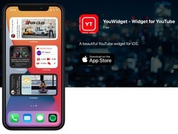 YouWidget puts your YouTube subs and more into an iOS 14 widget