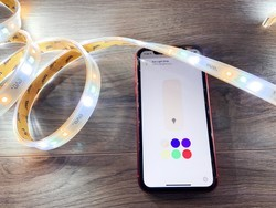 Add mood lighting to your home by setting a color for your HomeKit lights