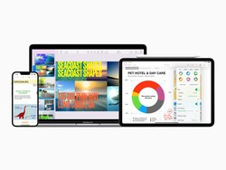 Apple updates iWork with live camera views in Keynote and more
