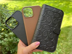 Suit up your iPhone 13 Pro Max in luxurious leather