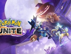 Greedent comes to Pokémon UNITE during the Halloween Festival event!