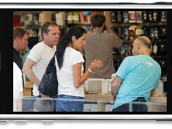 Apple Store Notes: Time to Buy in the US: 15mn.  Outside the US: ∞