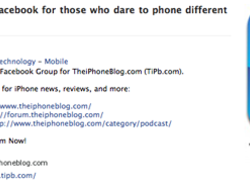 Join the iPhone blog on Facebook!