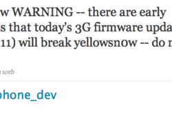 iPhone Dev Team Warning to Unlockers: Do Not Update to 2.2.1 Firmware