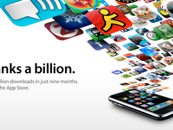 App Store Sells 1 Billion Apps.  With a B.