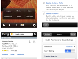 Microsoft Releases Bing 1.1 for iPhone, iPod touch