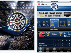 CBC Hockey for iPhone: stream games live