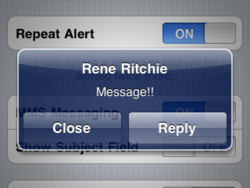 Beginner tip: How to make text messages more private