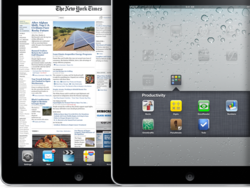 Steve Jobs: iPad with iOS 4.2 is a target few other tablets will hit