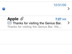 iPhone bugs: Blank messages in Mail