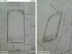 Design Drawings for the possible next iPhone leaked